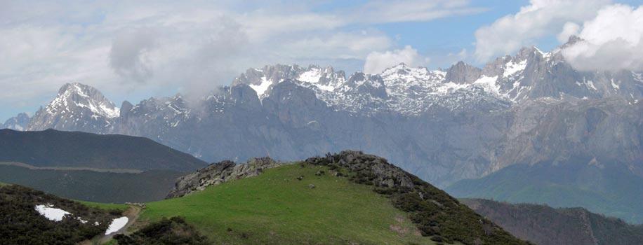 Panorama des Monts d'Europe en Espagne !